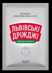 Львівські дріжджі сухi 12г